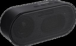 Mini bocina Bluetooth Round Edge colo negro