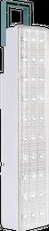 Lámpara LED de emergencia portátil, con agarradera deslizable