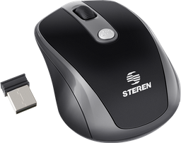 Mouse óptico inalámbrico con triple resolución