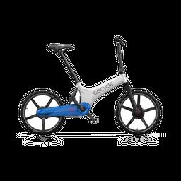 Bicicleta eléctrica Gocycle GS Blanco/Azul