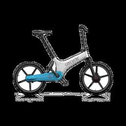 Bicicleta eléctrica Gocycle GS Blanco/AzulClaro