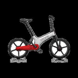 Bicicleta eléctrica Gocycle GS Blanco/Rojo
