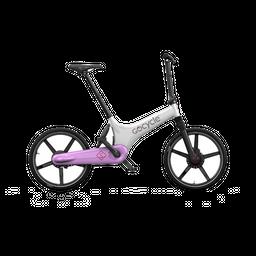 Bicicleta eléctrica Gocycle GS Blanco/Rosa