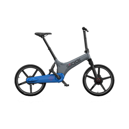 Bicicleta eléctrica Gocycle GS Gris/Azul