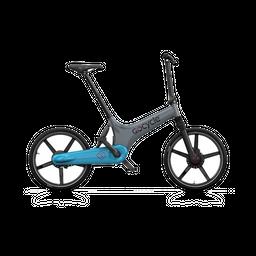 Bicicleta eléctrica Gocycle GS Gris/Azul Claro