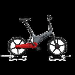 Bicicleta eléctrica Gocycle GS Gris/Rojo