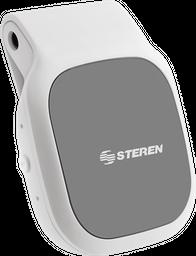 Receptor de audio Bluetooth manos libres, compacto blanco