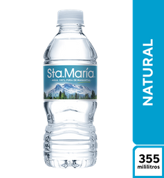 Agua Santa Maria Natural 355 ml