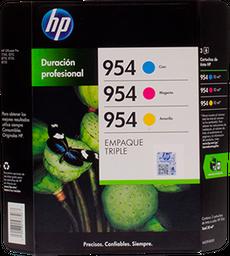 Tinta Hewlett Packard en Cartucho 954 Tricolor 3 U