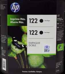 Cartucho 122 Negro 2 U Hewlett Packard