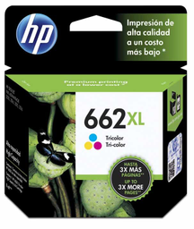 Cartucho HP 662 XL Negro 2 U