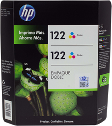 Cartucho 122 Tricolor 2 U Hewlett Packard
