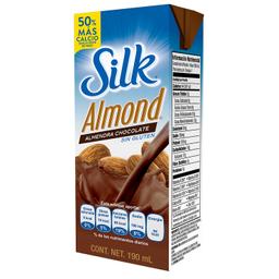 Leche Silk Almond Sabor Chocolate 190 mL X 24