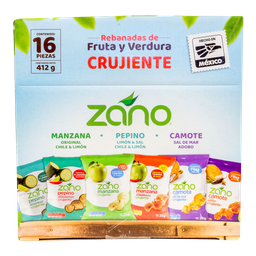Frutos Secos Zano 25 g X 16