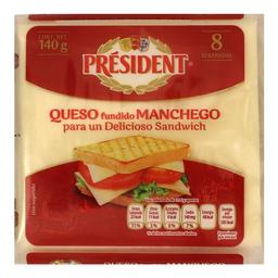 Queso Manchego President Rebanado 1 Kg
