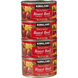 Pollo Jamon Roast Beef 397 g Kirkland Signature 3 U