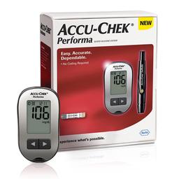 Performa Medidor 10 Lancetas Y 10 Tiras Accu-Check