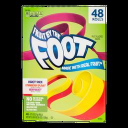 Caramelo Suave Fruit By The Foot Rollo Con Fruta 48 U