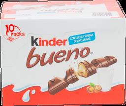 Chocolate Kinder Bueno Relleno 10 U