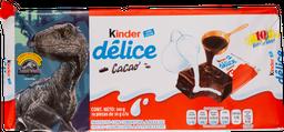 Pastelito Kinder Delice de Chocolate 10 U