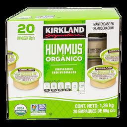 Hummus Kirkland Signature Orgánico 68 g x 20 U