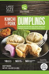 Kimchi Y Cerdo Silk Road Potstickers 1.1 Kg
