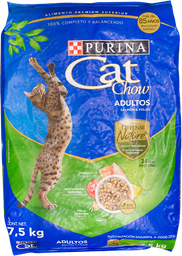 Alimento Para Gato Cat Chow Salmón Y Pollo Adulto 7.5 Kg