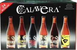 Cerveza Artesanal 24 Botellas De 355mL Calavera