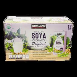 Bebida De Soya Kirkland Signature Organica de 946 mL x 12
