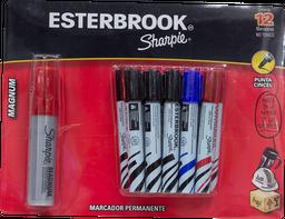 Marcador Permanente 12 U Esterbrook