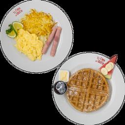 Waffle Sándwich Grande