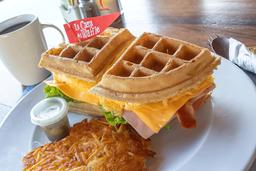 Waffle Sándwich Belga