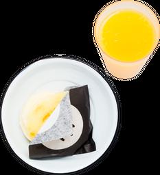 Arepa Pelua + Bebida