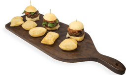 30% OFF Mini Hamburguesa de Pan de Queso