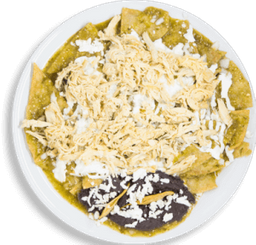 Paquete Chilaquiles Zapata + Jugo de Naranja