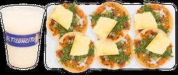 6 Tacos de Pastor + Agua Fresca Gratis