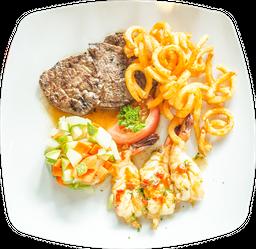 Steak and Shrimps