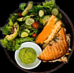 Jueves: Sándwich de Pollo con Chutney Mango Deli