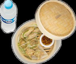Envío Gratis: Handmade Dumplings + Agua Natural Ciel