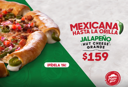 Pizza Jalapeño Hut Cheese Mexicana