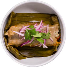 Tamal de Alcachofa (Vegano)