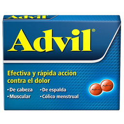 Advil 12 Tabletas (200 mg)