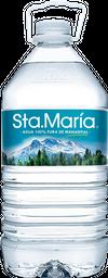 Agua Santa María Natural Garrafón 4 L