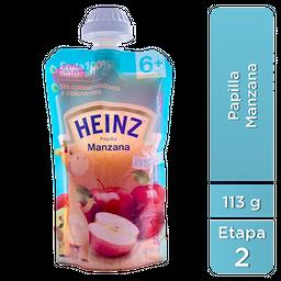 Papilla Heinz 2da Etapa Manzana 113 g