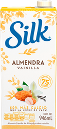 Leche de Almendra Silk Almond Sabor Vainilla 946 mL