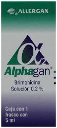 Alphagan Suspensión Oftálmica (5 mL)