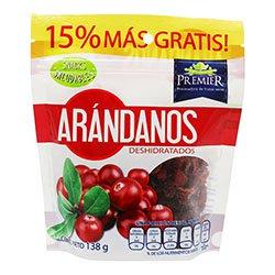 Arándanos Premier Deshidratados 138 g