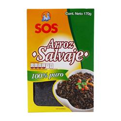 Arroz SOS Salvaje 100% Puro 170 g