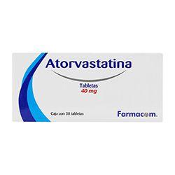 Atorvastatina 40 Mg Cja C30 Tabs 1 U