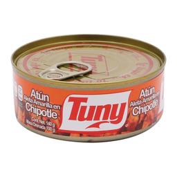 Atún Tuny Aleta Amarilla en Chipotle 140 g